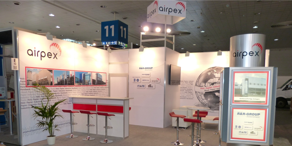 Messestand - Airpex
