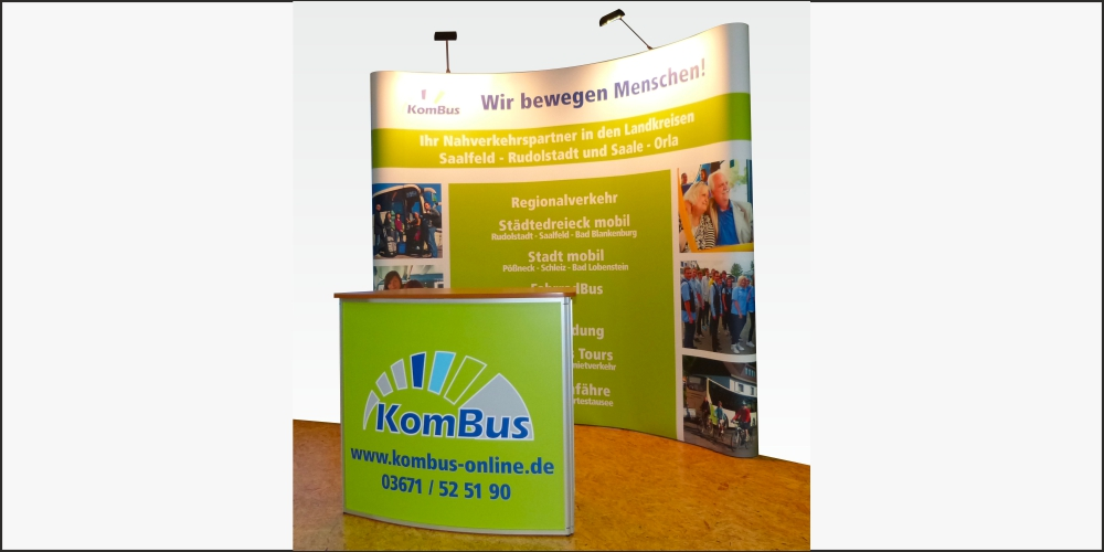 Messestand - Kombus