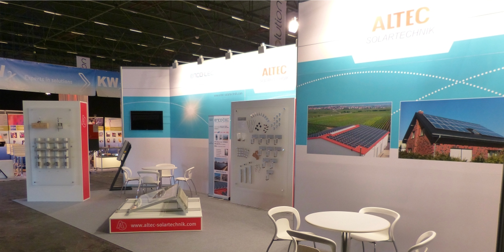 Messestand - altec Solartechnik 2